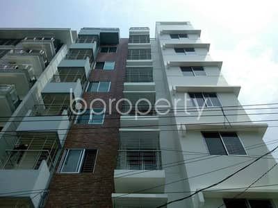 Offering You A 1200 Sq Ft Flat For Sale In Bashundhara Near American International University-bangladesh