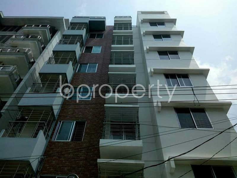 1200 Sq Ft Of Ready Flat For Sale In Badhundhara R/a Nearby American International University-bangladesh