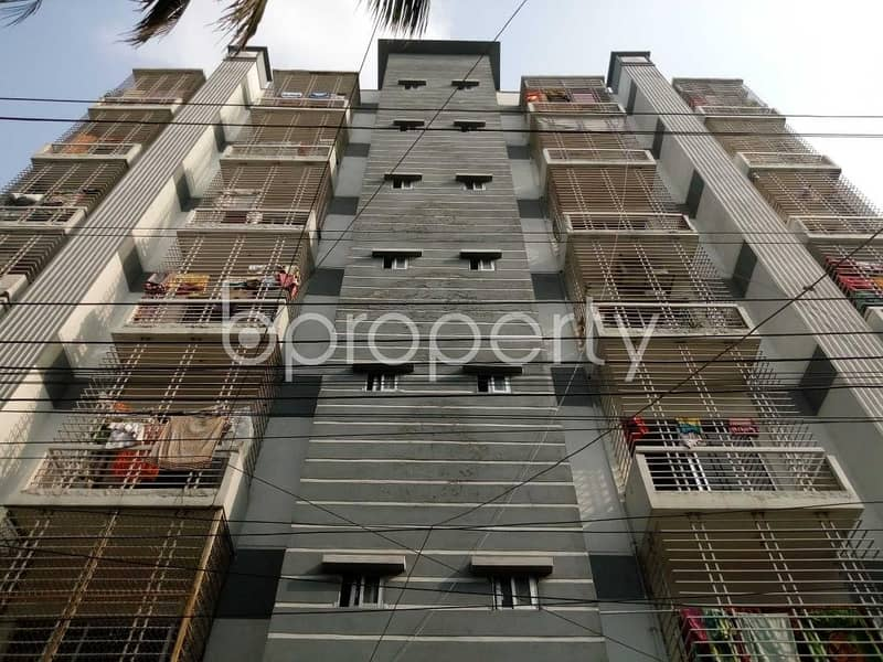 1200 Sq. Ft. apartment for sale is located at Mohammadpur, near to Bismillah Pharmacy