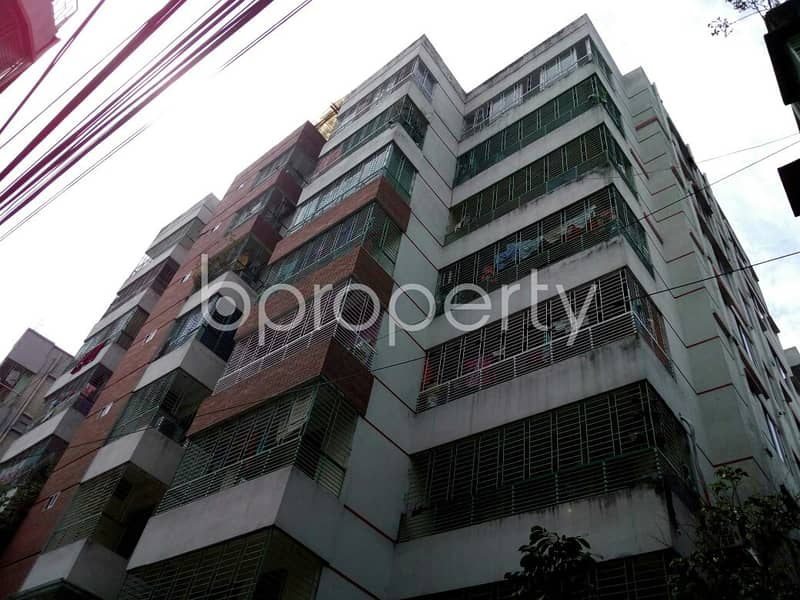 1541 SQ FT flat near High School for Rent in Dhanmondi