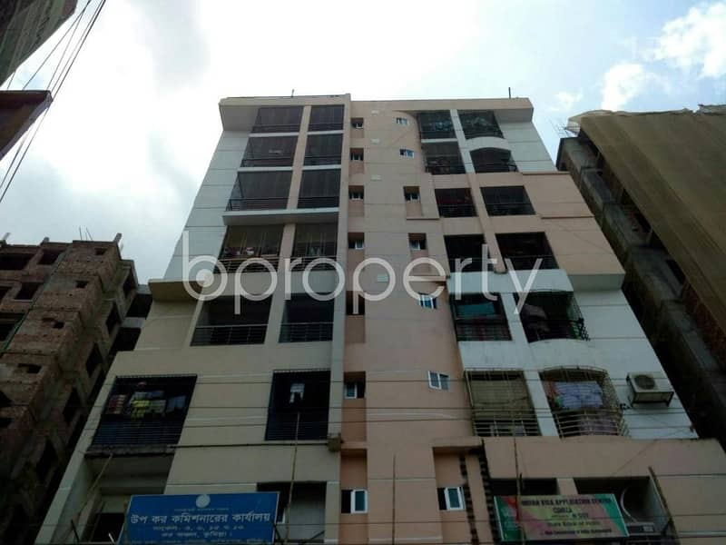 Visit this apartment for rent of 1420 SQ FT in Kandirpar near Cumilla Modern High School