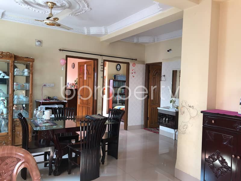 A Modern Apartment In Maghbazar Near Hazi Kutir Jame Mosque Is Up For Sale