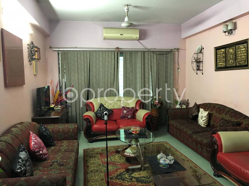 This Ready Apartment At Mohammadpur, Near Bangladesh Institute Of Technology Is Up For Sale