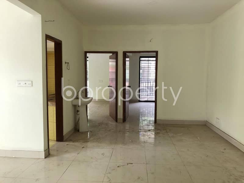 A Cozy Residential Apartment for Sale is available in Uttara near Friends Club