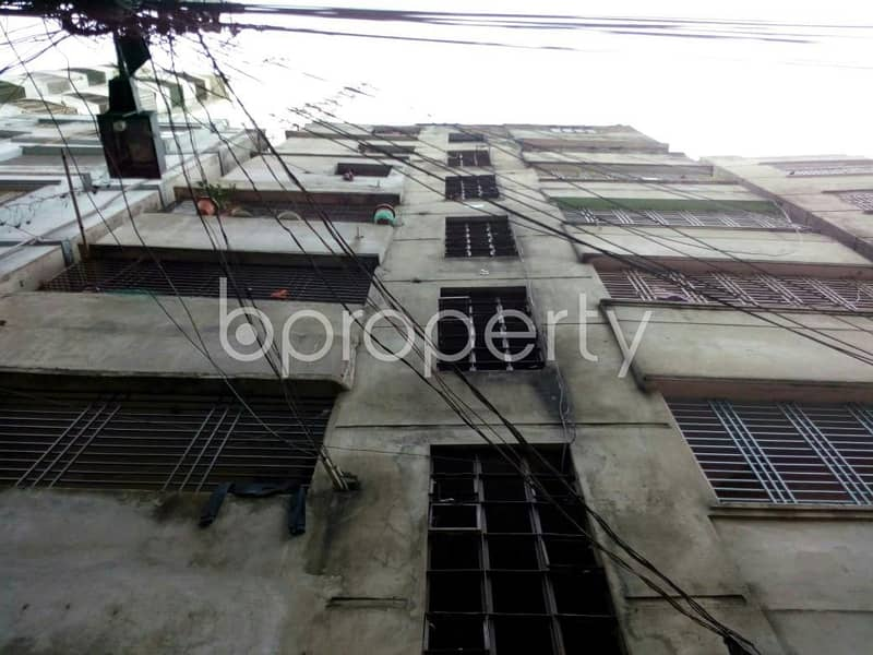 650 SQ FT apartment for rent near Dutch-Bangla Bank Limited, in Jhautola