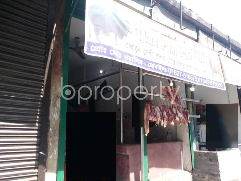 Acquire This 400 Sq. Ft Shop Which Is Up For Rent In Kalachandpur Near Govt. Kalachandpur School & College.