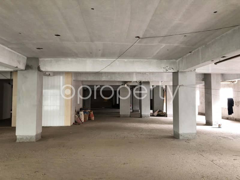 This vast commercial space is available for sale in Kathalbagan near Al-Amin Jame Masjid