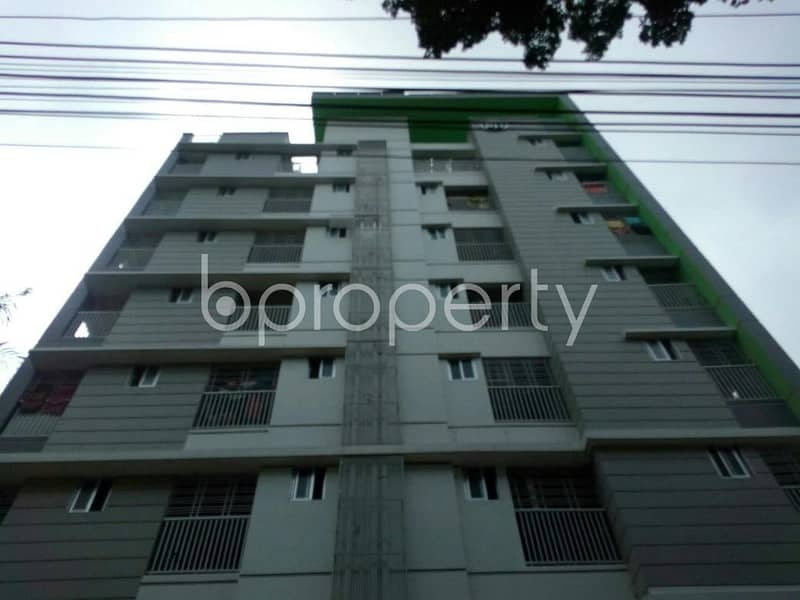 Visit this apartment for rent covering an area of 1075 sq ft in older chowdhury para road near jamuna bank limited