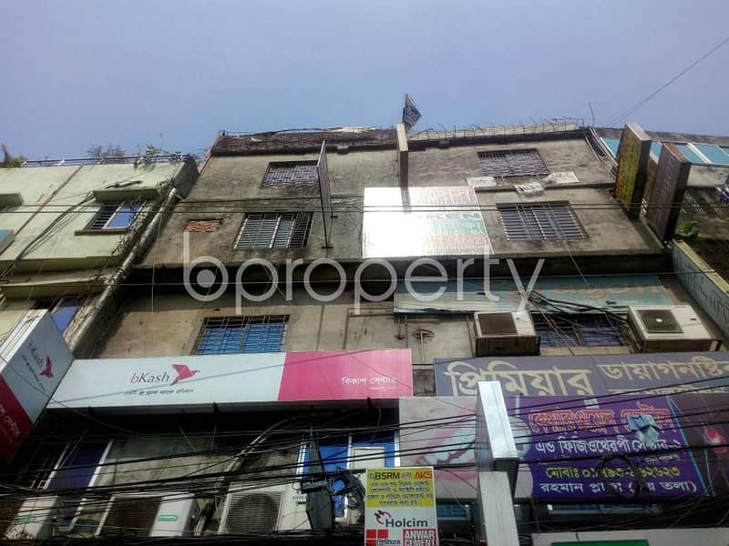 A 1400 SQ Ft office space is for rent which is located on West Jatrabari, nearby AB Bank Limited | ATM Booth