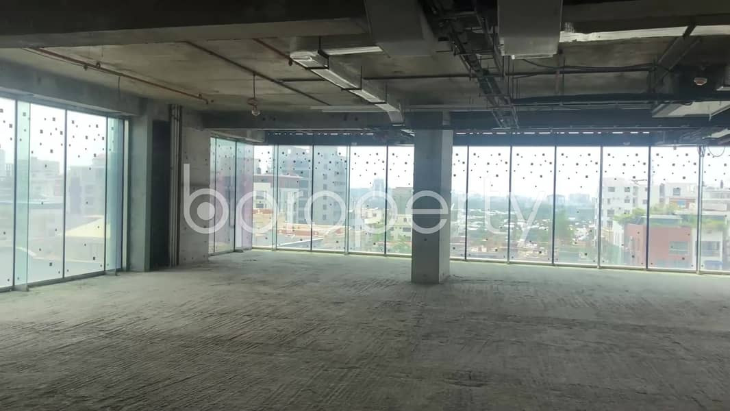 An Ample Commercial Space Is Available For Sale In Gulshan Avenue Nearby Standard Chartered Bank