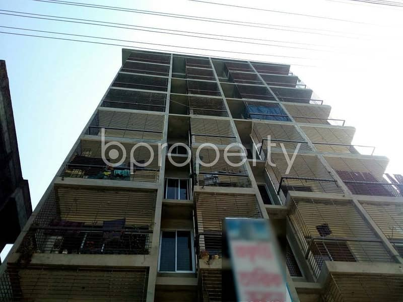 A 1162 SQ FT, apartment is ready to sale at Race Course nearby Cumilla Markaj Mosjid
