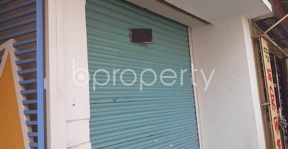Acquire This Shop Which Is Up For Rent In Mirpur Near Shah Ali Police Station