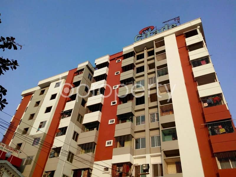 At Halishahar 1100 Square feet flat for Sale close to Halishahar Jame Masjid