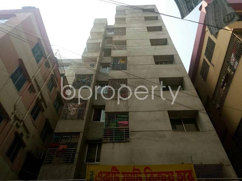 A 1100 SQ Ft, apartment at Dakshin Khan nearby A. D. Pharma is up for sale.