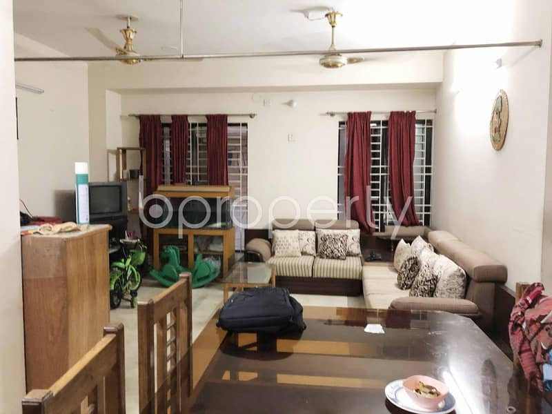 Well Built Residential Apartment for Sale in Uttara near ONE Bank Limited | ATM Booth