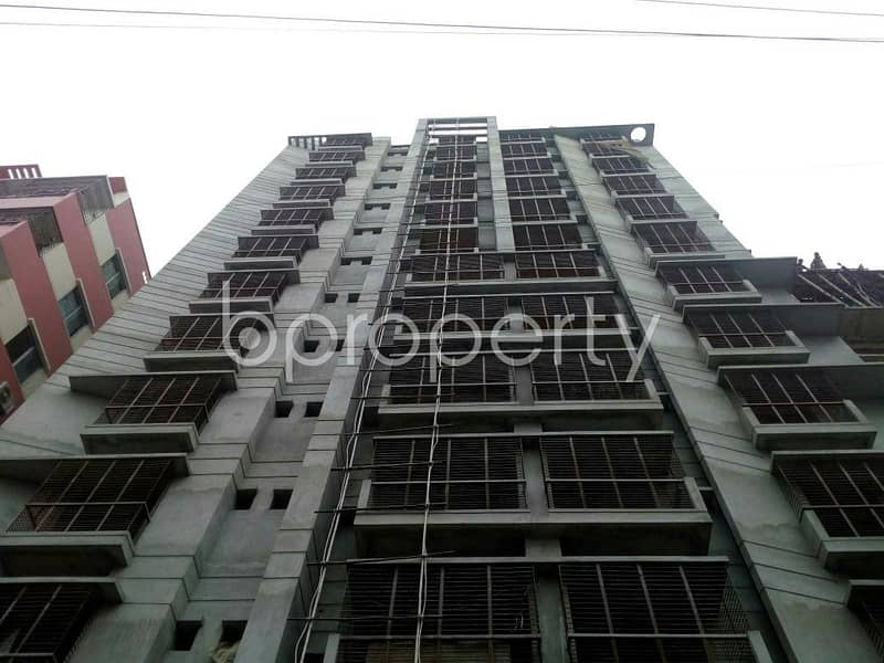 Wonderful apartment 1210 SQ Ft for sale is located on Jhautola near to Eastern Bank Limited