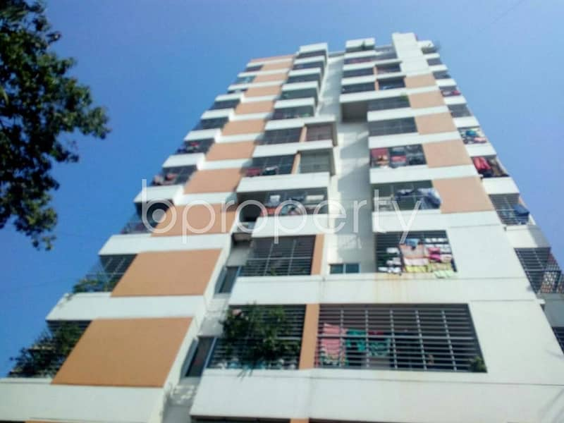 Check this 1118 SQ FT apartment up for sale at Chatogram very near to Usmania Glass Sheet Factory Limited