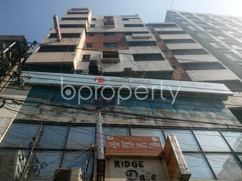 See This 730 Sq. ft. Masterful Commercial Space Up For Sale In Bir Uttam Rafiqul Islam Avenue Near Prescription Point