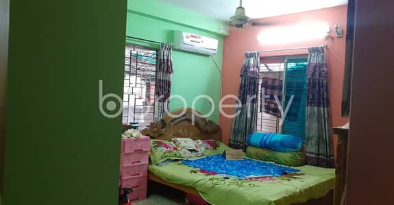3 Bedroom Flat for Sale in Adabor, Dhaka - A Fine Flat Is Now For Sale Which Is In Adabor Near Crest International School & College