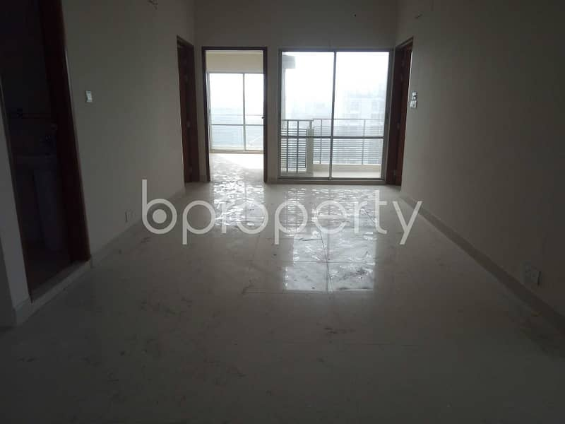 A 1800 SQ FT apartment is waiting for sale at Baridhara nearby University of Information Technology and Sciences