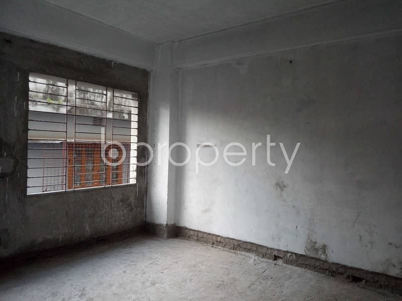 Visit This Flat For Sale In Outer Circular Road Nearby Eastern Bank Limited
