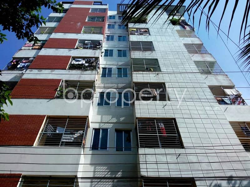 Check this 1170 SQ FT, apartment ready for sale at Bayazid nearby Janata Bank Limited