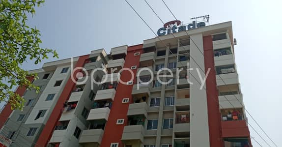 3 Bedroom Flat for Sale in Halishahar, Chattogram - Flat For Sale Covering A Beautiful Area In Halishahar Nearby Dew Point School.
