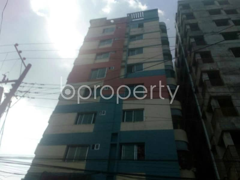 We Have A 1663 Sq Ft Ready Flat For Sale In Chand Mia Road Nearby Darul Ma'arif Al Islamia Jame Masjid