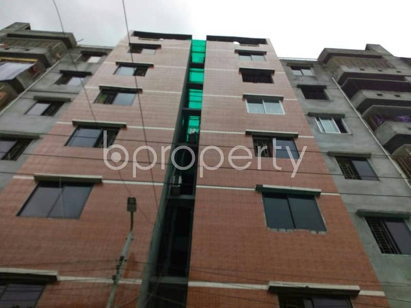 Visit this flat for sale covering an area of 1200 SQ FT in Narayanganj near Mizmizi Paschim Para High School
