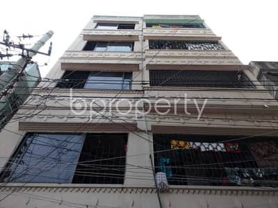 3 Bedroom Apartment for Rent in Kalachandpur, Dhaka - Start residing in this 1200 SQ FT, properly developed flat for rent, in Kalachandpur, near British School of Law
