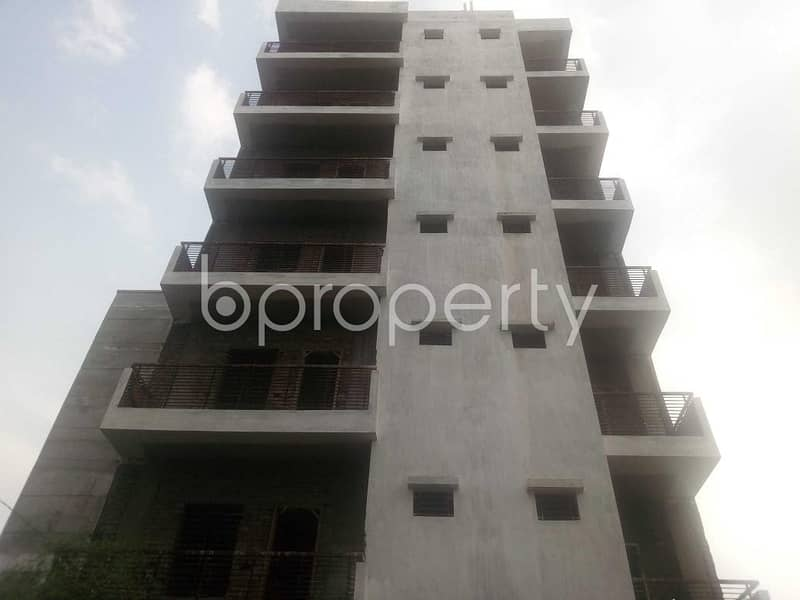 An Apartment Which Is Up For Sale At Aftab Nagar Near To Baitullah Jame Mosque .