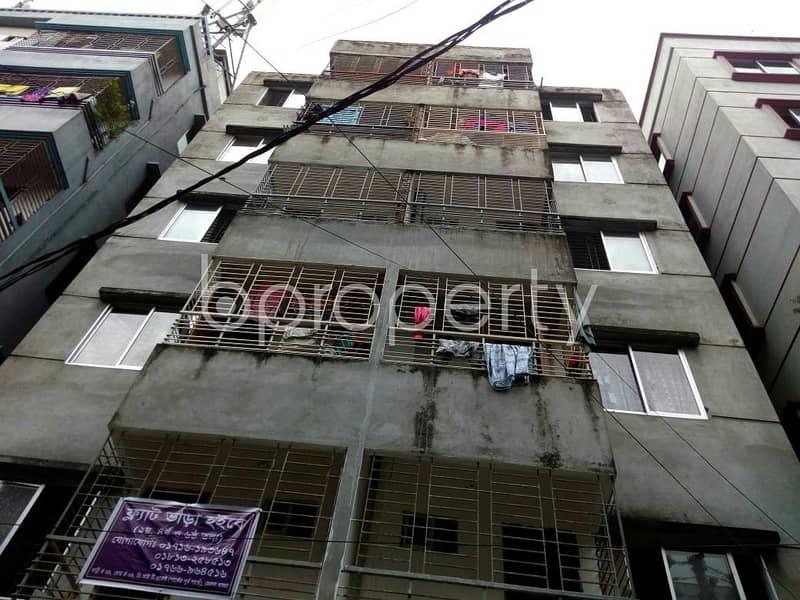 Create your home in a 720 SQ FT flat for sale in Badda, near Siraj Mia Memorial Model School
