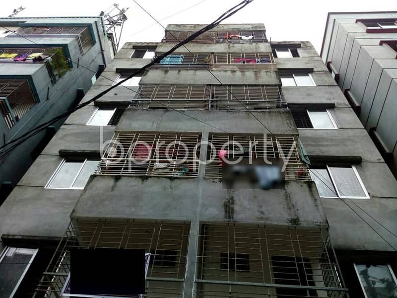 A Decent 720 SQ FT flat which is near to Badda High School is now for sale in Badda