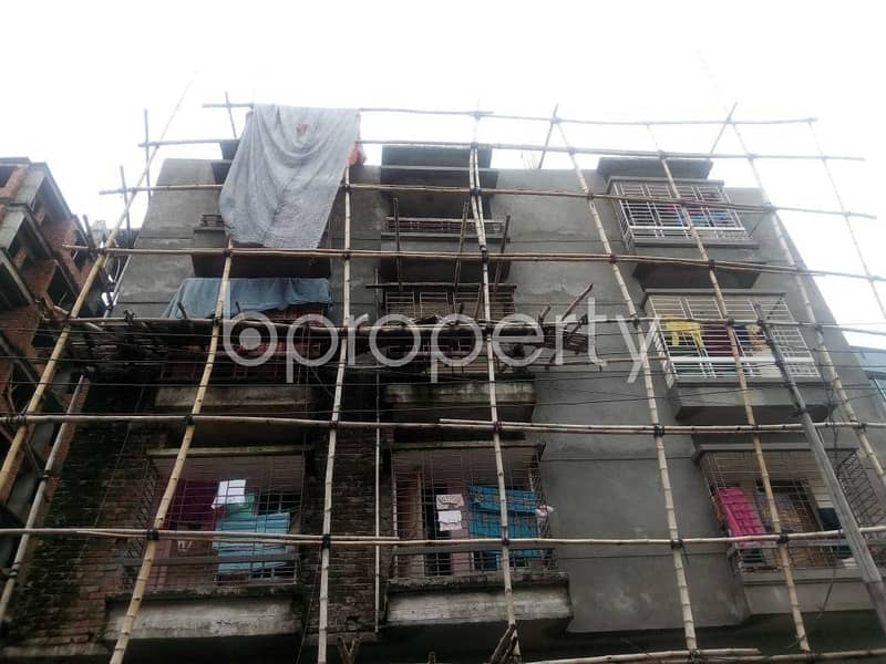 An Apartment Up For Sale Is Located At Aftab Nagar , Near To Dhaka Imperial College.