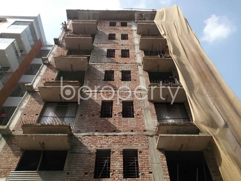 Grab This Flat Up For Sale In Aftab Nagar Near Dhaka Imperial College