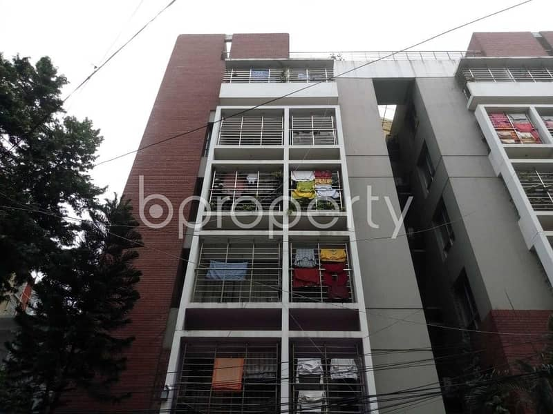An apartment is up for sale at Mohammadpur nearby Bangladesh Institute Of Technology