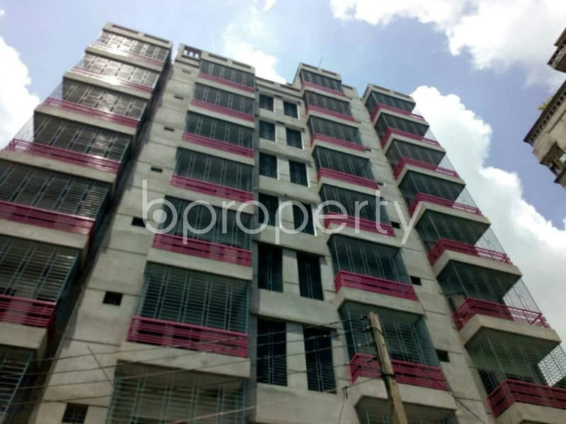 Find your desired apartment at this 1090 SQ Ft ready flat at Shiddhirganj, near Dutch-Bangla Bank Limited ATM