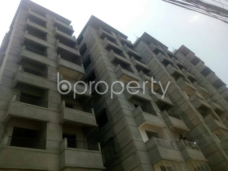A 1050 SQ FT apartment is available for sale at East Hazipara nearby Dutch-Bangla Bank Limited | ATM Booth