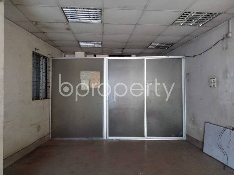 A Commercial Space Is Available For Rent Which Is Located In Ibrahimpur Nearby Sonali Bank