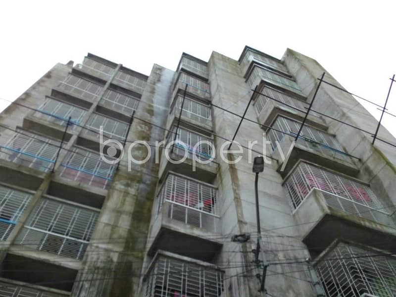 Amazing opportunity to live in Dhaka! Check this 1425 SQ FT apartment up for sale at Hirazheel very near to BRAC Bank Limited.