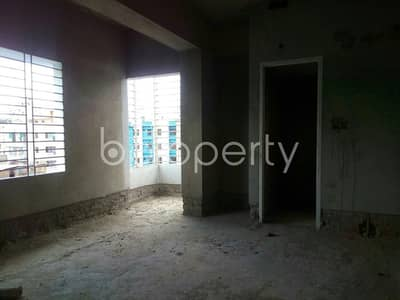 A 1244 SQ FT apartment is waiting for sale at Chandgaon Ward nearby Darul Ma'Arif Al Islamia