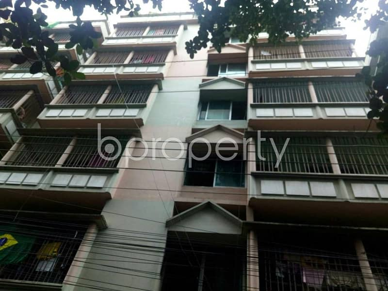 A well designed 950 SQ FT apartment is waiting for rent at Chatogram nearby Ekushey Hospital Private Ltd