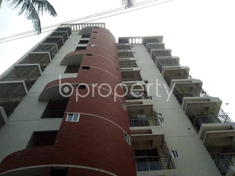 A 1480 SQ FT apartment is up for sale at Kallyanpur nearby Natun Bazar Jame Masjid