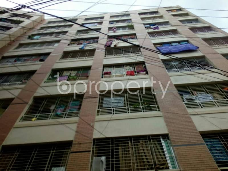 Obtain your new residence at this 950 SQ FT apartment up for sale at Amlapara, Narayanganj nearby Adarsha Shishu Government Primary School.