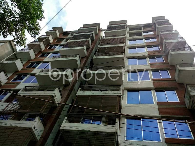 Obtain Your New Residence At This Apartment Up For Sale At Uttar Lalkhan Nearby Ispahani Public School And College.