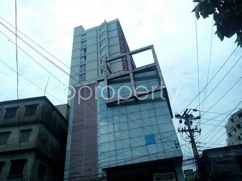 A 1198 SQ FT luxurious apartment ready to sale at Enayet bazaar nearby Divisional Govt. Public Library.