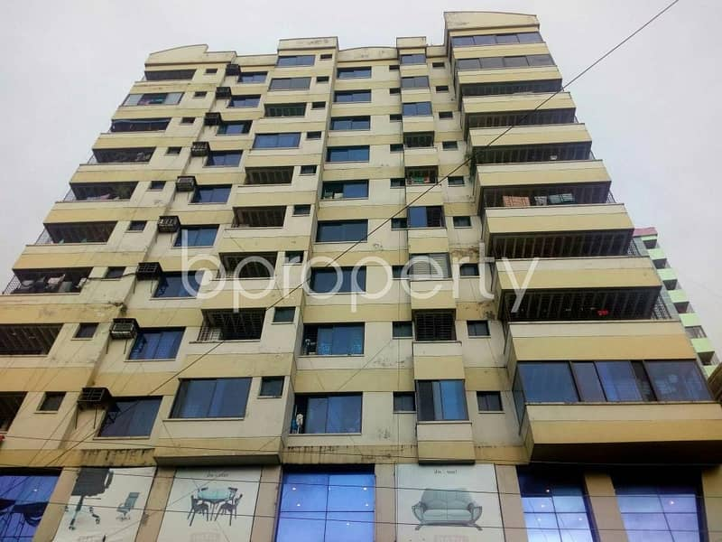 Visit this flat for sale covering an area of 1750 SQ FT in Subid Bazar, Sylhet nearby Sylhet Sanskrit College.
