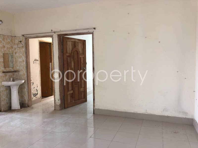 A Well Planned Apartment For Sale Is Available In Khilkhet Near Baitur Rahim Jame Masjid