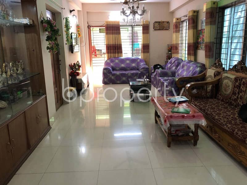 This Well Planned Apartment Is Available For Sale In Uttara, Near Wide Vision School
