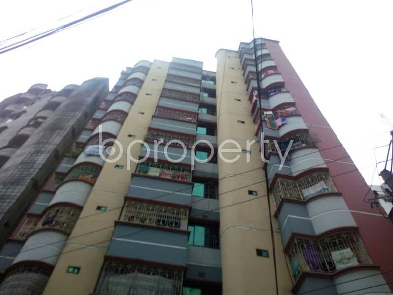 Reside conveniently in this well constructed 888 SQ FT flat for sale in Hirazheel, near Brac Bank Limited